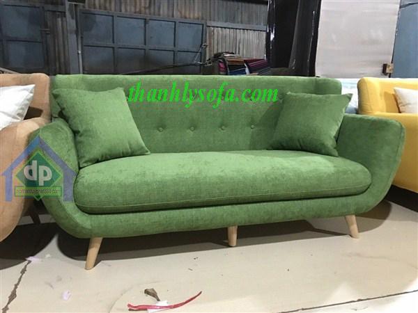 Duy phát thanh lý ghế Sofa thuyền xanh rêu 1m8 mới 100% 1