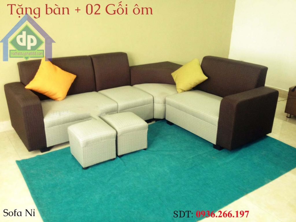 Những mẫu sofa cho phòng khách nhỏ vô cùng sang trọng