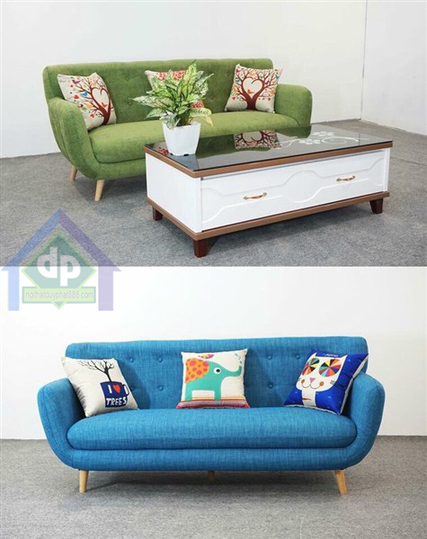 Thanh lý sofa văng bọc nỉ mới chưa qua sử dụng tại nội thất Duy Phát 1