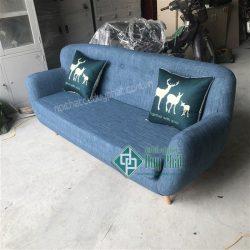 Thanh lý ghế sofa đơn màu tím mới 100%