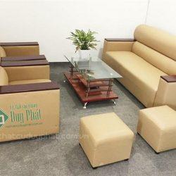 Bộ sofa văng nhật màu kem 1 văng dài 2 ghế đơn (SFN3000-2)