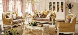 Sofa Châu Âu hiện đại có vẻ đẹp thẩm mỹ cao