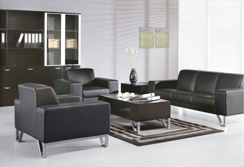 Bộ bàn ghế sofa phòng làm việc giám đốc với phong cách thiết kế hiện đại, sang trọng và tinh tế