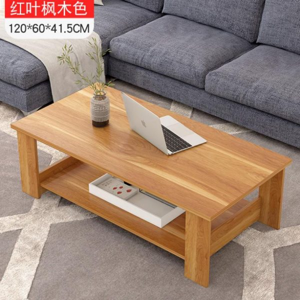 Mẫu bàn sofa 2 tầng cho phòng khách đẹp và hiện đại