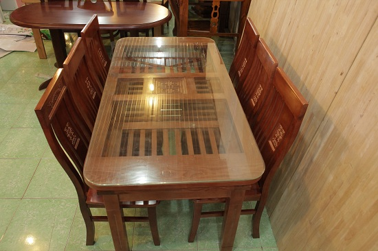 Bộ bàn ăn gỗ xoan 4 ghế, 6 ghế được ưa chuộng nhất