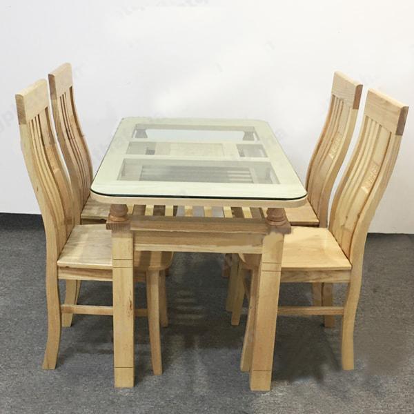 Tổng hợp các bộ bàn ăn gỗ sồi đẹp chất lượng mẫu mới nhất