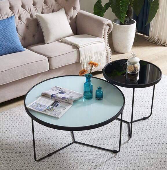 Tổng hợp các mẫu bàn sofa đôi cho phòng khách đẹp và hiện đại